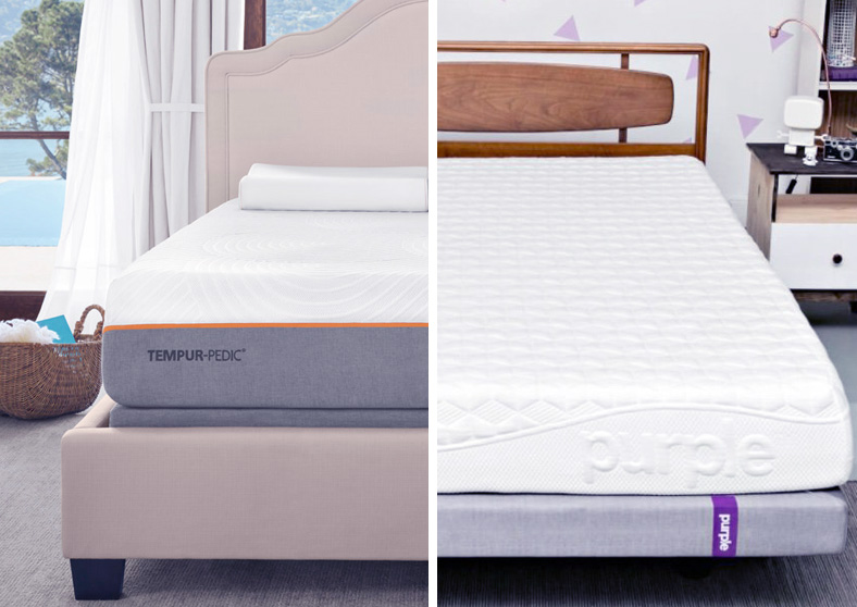 Tempurpedic vs Purple Mattress