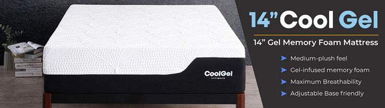 Cool Gel 2.0 Ultimate Gel Memory Foam Mattress