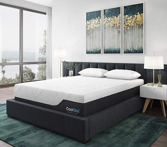CoolGel Memory Foam Mattress