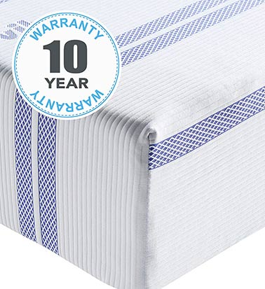 Vibe Mattress 10 year warranty