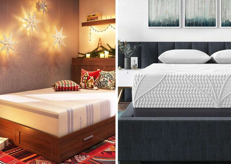 Vibe vs Classic Brands Gel Memory Foam Mattress