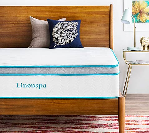 Linspa Gel Memory Foam Mattress Features